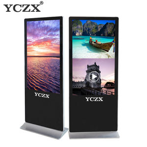 65 video advertising player photo play for advertising kiosk touch screen
