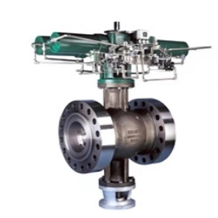 Stainless steel ball valve 210C/220C/230C concentric segmental valve control with EP800 positioner