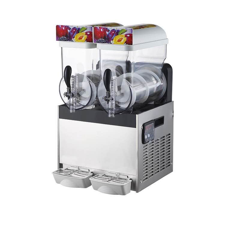 High Performance 2 Tanks Slush Ice Machine Slush Syrup/Slush Puppy Machines
