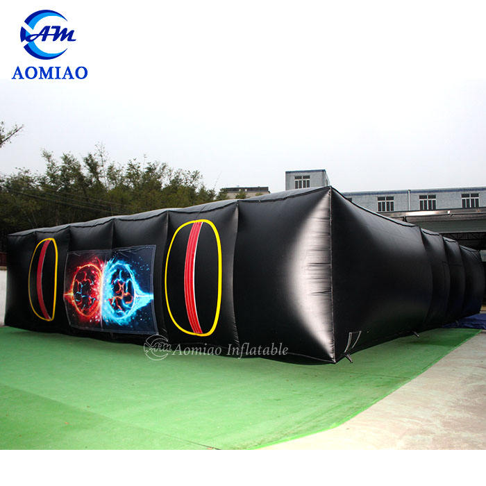Inflatable laser tag maze quest game PVC laser tag area for sale