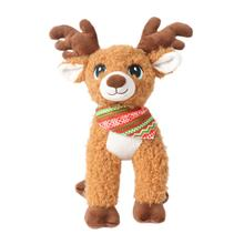 2020 Wholesale Soft Cute Cartoon Deer Plush Toy Custom Hot Sale Stuffed Animal Plush Deer with Scarf
