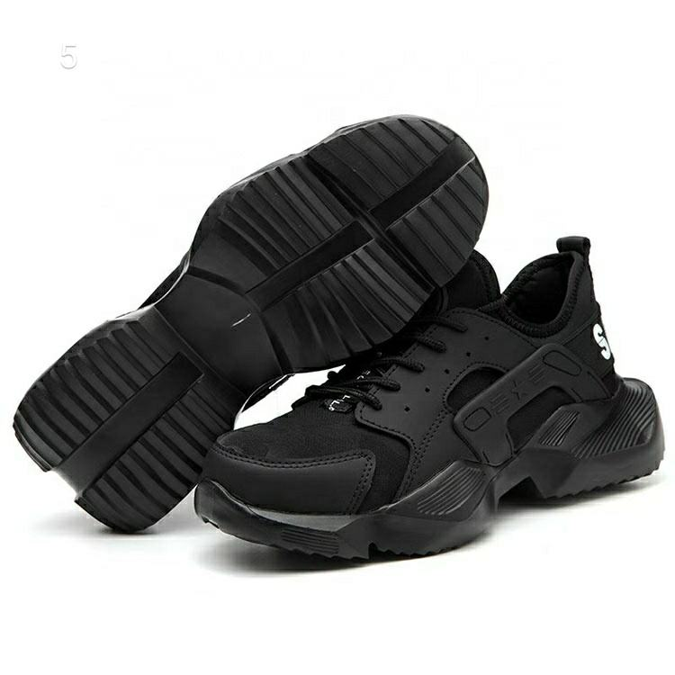 Cheap anti-static rubber wear-resistant breathable safety shoes