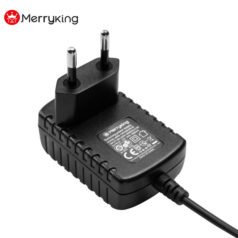 EU Plug 4.2V AC to DC Charger Adapter for Lithium Ion Li-ion LiPo 18650 Battery