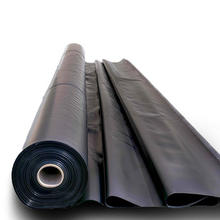 05mm 1mm 15mm 2mm 25mm reinforced HDPE geomembrane sheet liner suppliers for swimming pool dam fish tank and landfill