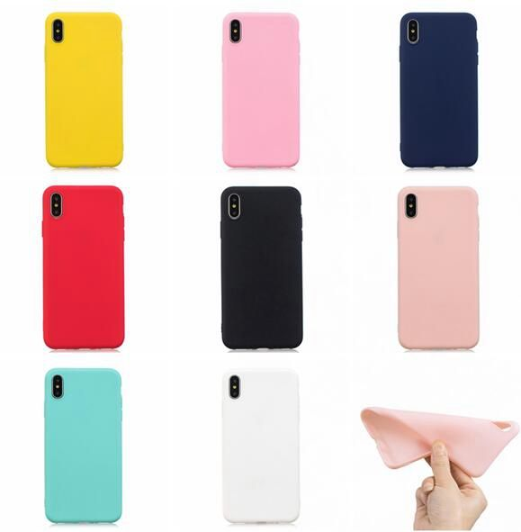 For Xiaomi mi 9 Pro NOTE10 Redmi 8 8A 5 NOTE 8T NOTE8T Case Frosted Matte Soft TPU Case Silicone Gel Skin Cover