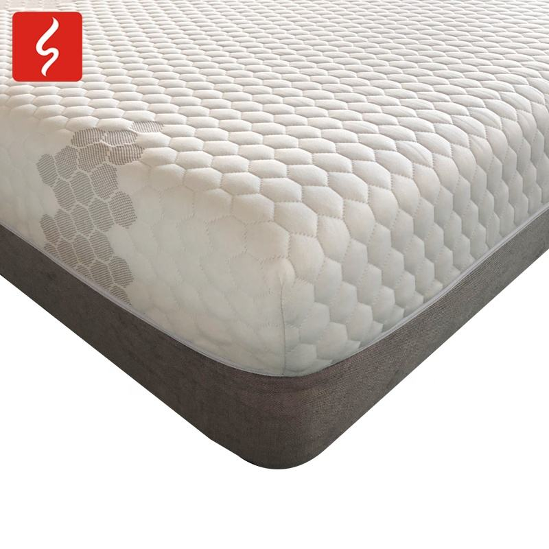 2020 CertiPUR-US twin size gel infused roll foam mattress for hotel bed