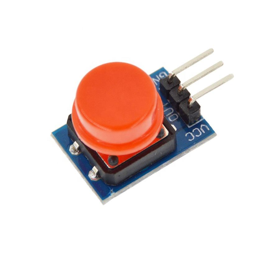 20X12MM Big key module Big button module Light touch switch module with hat High level output for arduino