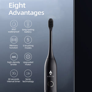 Ultrasonic Automatic Upgraded Fast chargeable Adult Waterproof Sonic Toothbrush Electric Tooth Brush