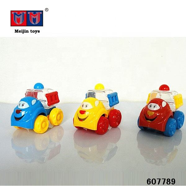 Giocattolo Candy mini <span class=keywords><strong>di</strong></span> plastica variopinta treno pull string toy car for kids
