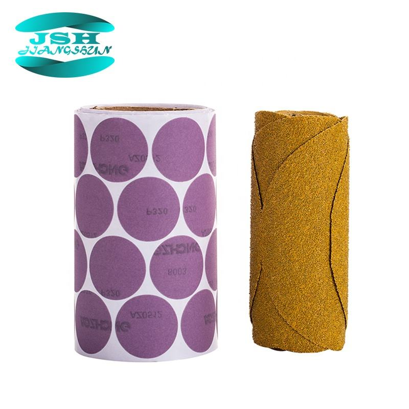 2 inch Abrasive quick change sanding disc roll