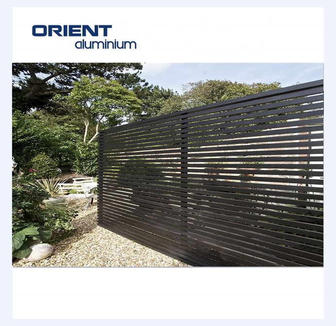 Hot sales aluminum fencing for houses