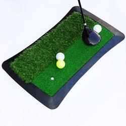 High Grade Butterfly-shaped Long And Short Grass Swing Practice Golf Mats