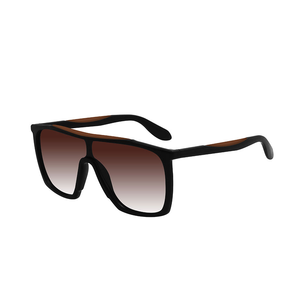Sunglasses Manufacturer 2021 New Trendy UV400 Polarized Oversized Square Women Men Shield Sunglasses