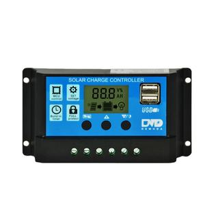 12V/24V Auto Charger Controller Solar 10a 20a Smart Panel Regulator Solar Controller 30a