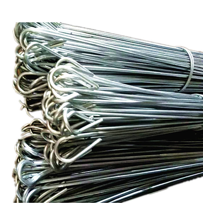 factory price quick link galvanized cotton baling wire double loop wire ties