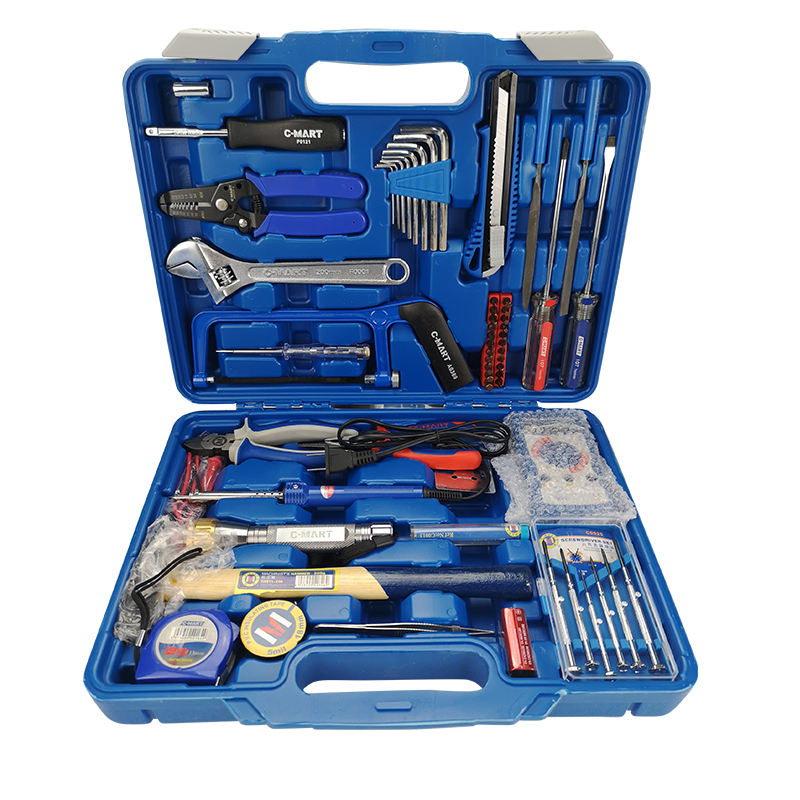 DIY Home Household Toolkits Daily Repair 59 pcs Electrician's Tool Kit Electrical Tool Kit