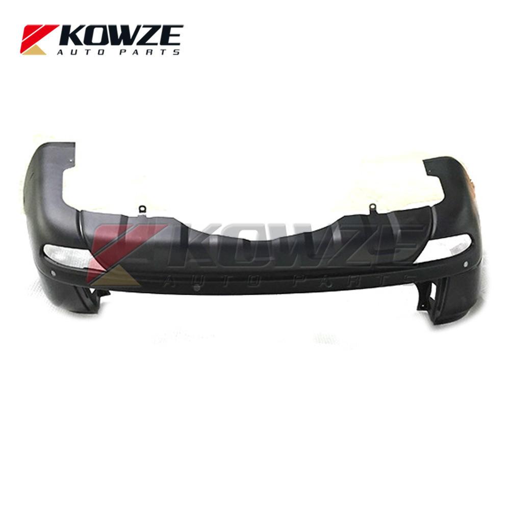 Rear Bumper Face Kit For Mitsubishi Pajero Montero Sport KG4W KG6W KH4W KH6W KH8W 6410B462 6410B463