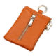 Mini key bag cowhide leather simple creative unisex ultra-thin change card package