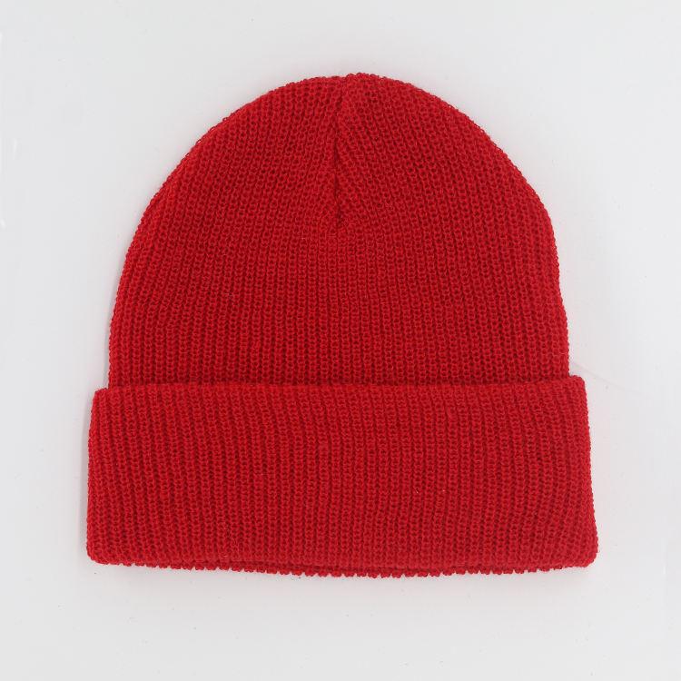 Custom Printed personalizzato Wooly Cappello Beanie Lavorato a Maglia Personalizzata Headwear
