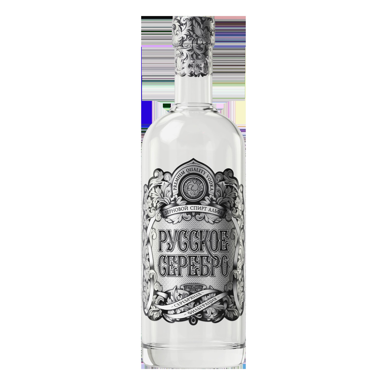 Russian Silver Premium 1 Liter Vodka