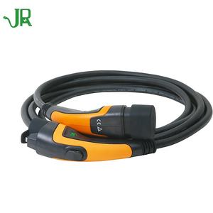 JERI Hot Sale Electric Vehicle connector plug 32A Type 2 to Type1 ev charging cable