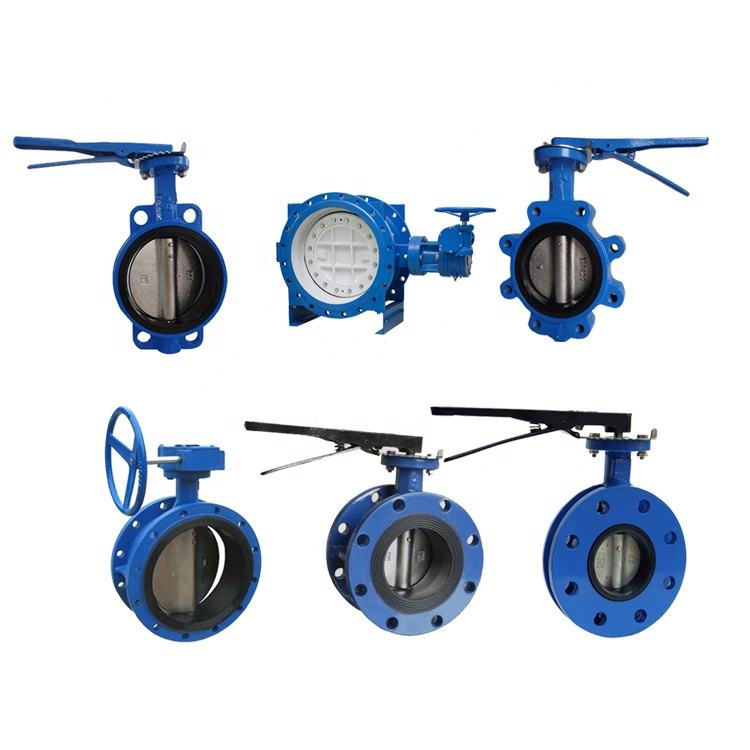 CE certificate Ductile Iron Cast Iron Butterfly Valve PN10/16