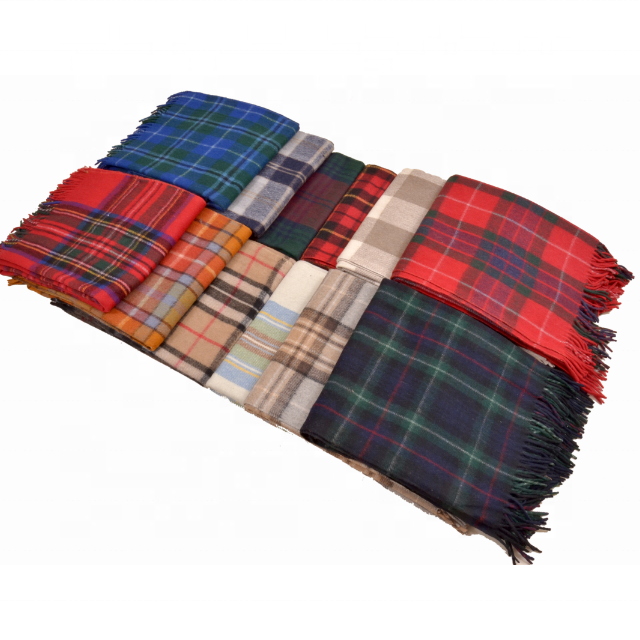 Wool Plaids Blankets