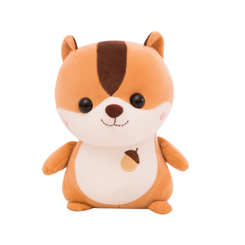 animated toy animal squirrel plush toy cute stuffed animal squirrel super soft stuffed squirrel