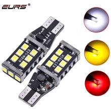 EURS automobile led light bulb Canbus W16W T15 2835 15SMD led turn signal reverse light