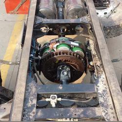 Electromagnetic retarder Bus brake retarder, replacing Telma retarder model AD72-60 24V