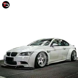 2005-2012 3 Series E90 310 320 325 LB Wide Style Body Kit With Front Lip Side Skirts Fender Flares Spoiler