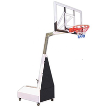 Professional Portable Manual Hydraulic Basketball Hoop Stand for Sports Training