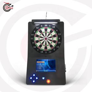2020 international-standard arcade electronic soft tip coin operated wall hanging dart machine