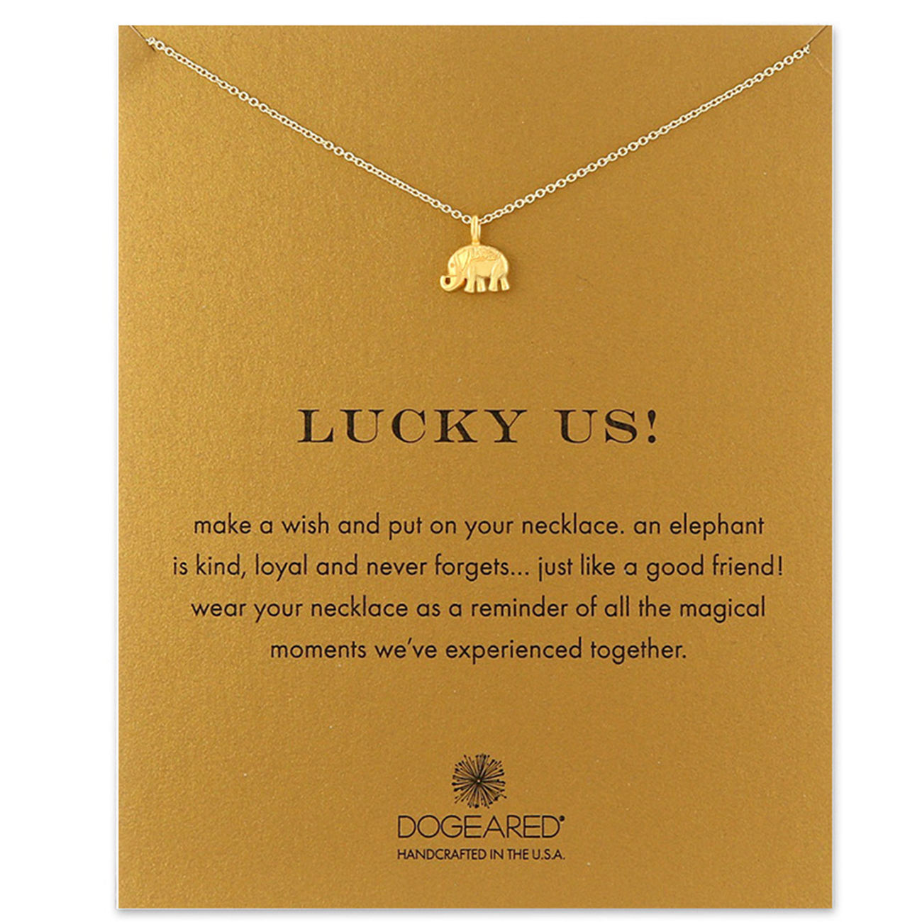Wholesale most popular lucky necklace best wishes gold plated jewelry pendant collarbone chain necklaces with message gift card