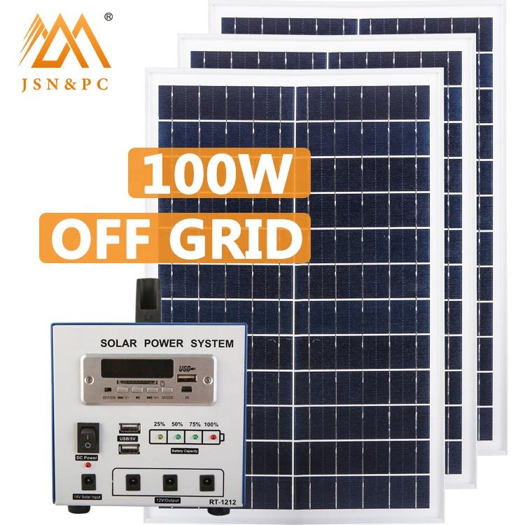 solar panel 100W solar portable solar solar energy home power solar system