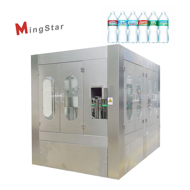 Small Scale 1 Liter Mineral Spring Water Bottle Filling Machine for Bottling Plant