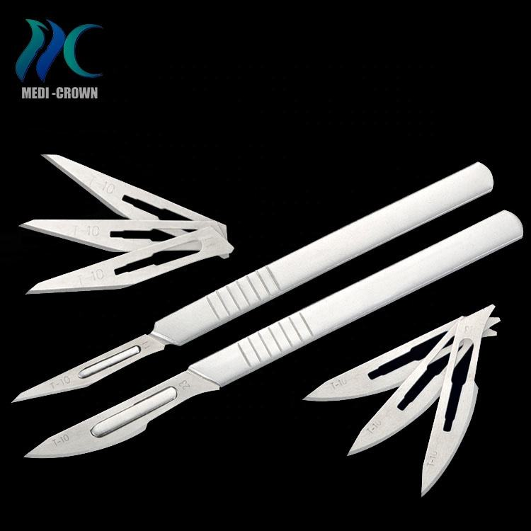 CE ISO approved surgical doctor manufacturer scalpel 11 blade