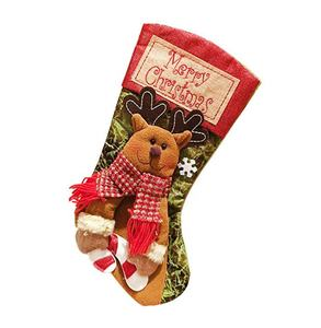 Gift Sock Farmhouse Christmas Stockings in Bulk Christmas Stocking Wholesale
