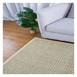 Indoor/ outdoor natural fiber seagrass area rug seagrass floor rug