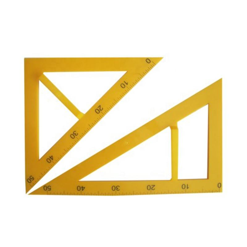 Math Compass Protractor Ruler Set for Geometry