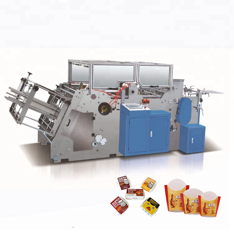 paper box thermo forming machine, pizza box machine maker fabrication