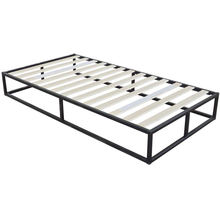 14 inch metal platform bed frame with mattress foundation