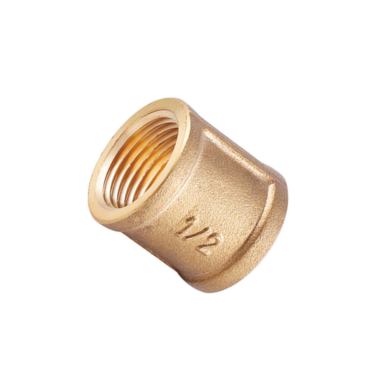 "HELERO HT 200-1005 brass threaded pipe fittings straight female union 1/2"" FF"