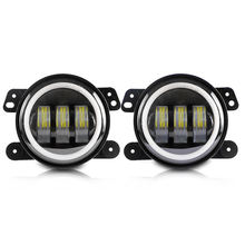 4 Inch 30W Round 7D LED Fog Lights LED Driving Lamp