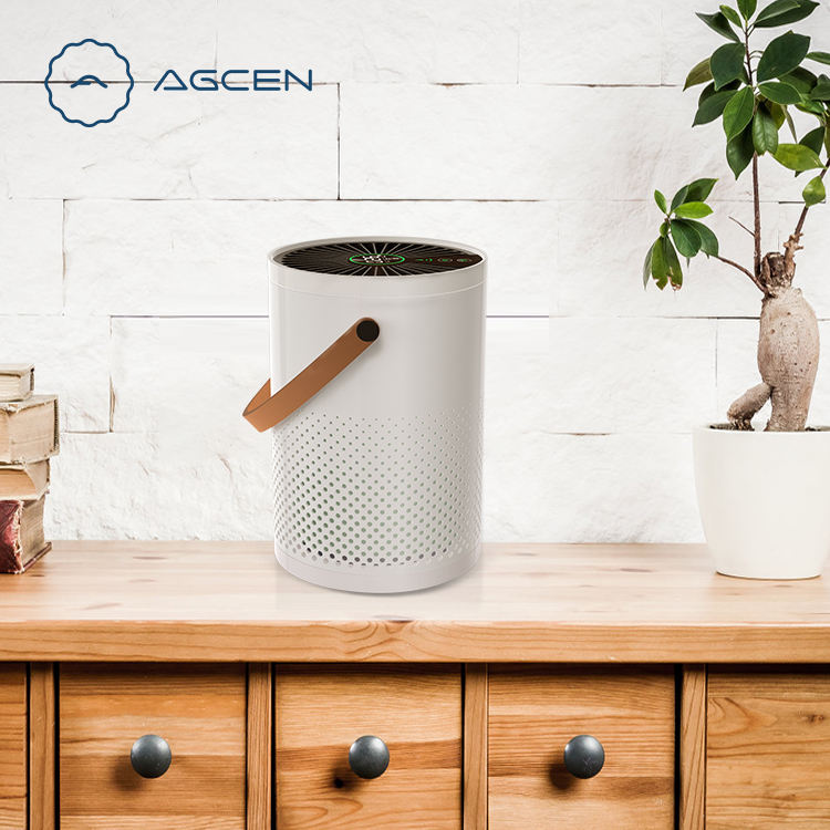 Agcen 2020 new model CADR 100 desktop air purifier With Ture Hepa Filter for pm2.5 removal