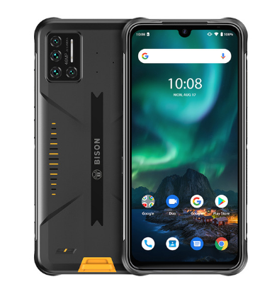 "Umidigi Bison IP68/IP69K Waterdichte Robuuste <span class=keywords><strong>Telefoon</strong></span> 48MP Matrix Quad Camera 6.3 ""Fhd + Display 6Gb + 128Gb Nfc Android 10 Smartphone"