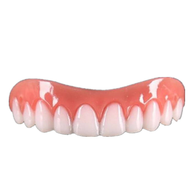False fake Teeth tooth cover Perfect Smile Veneers Fit Flex Denture Paste Cosmetic snap on smile fake braces for teeth