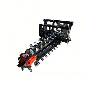 Chain drive new best-selling mini trencher Forestry Machinery