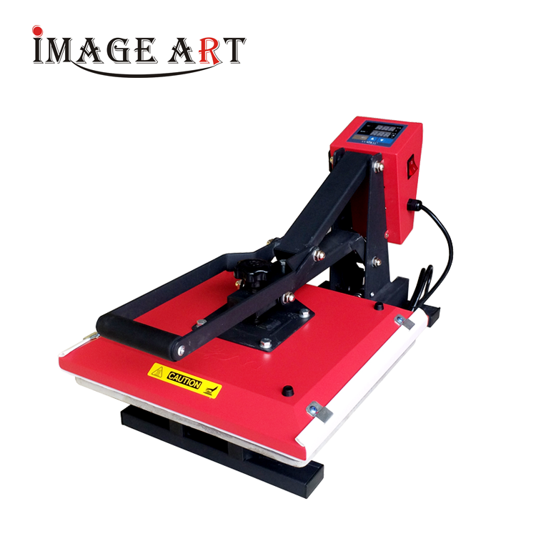 Manual hand high pressure heat press machine 38x38cm for wholesale