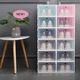 Durable Home Stackable PP Plastic Transparent Organizer Shoe Storage Box